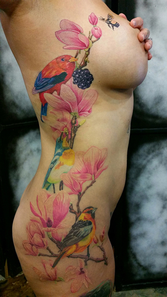Color Nature Tattoos